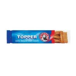 Bakers Topper Vanilla 125G X 4