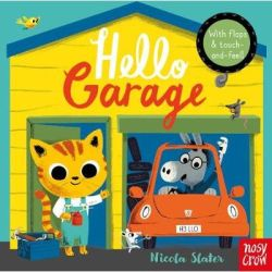 Hello Garage Board Book