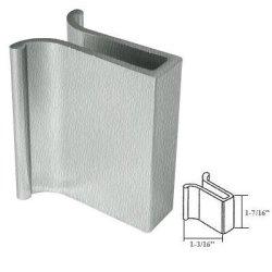 GordonGlass Brushed Nickel Frameless Shower Door Slip-on Finger Pull