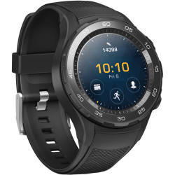 Huawei 4G Android Wear Watch 2 Sport Strap in Carbon Black