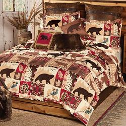 Black Forest Decor Durango Wildlife Bed Set - King