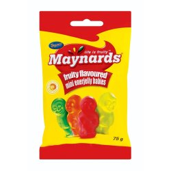Sweets Packet Jelly Babies 75 G