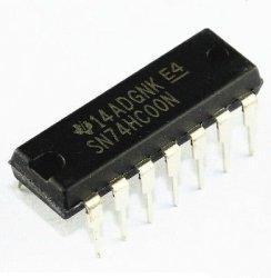 QX Electronics 10PCS SN74HC00N 74HC00N Ic Quad 2-INPUT Gate 14-DIP New