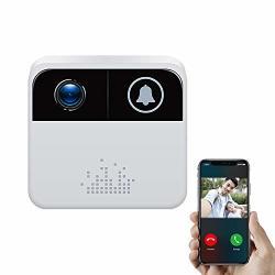 Smart Wifi Electronic Doorbell Video Wireless Voice Intercom Mobile Remote Monitoring Home Alarm Video Doorbell