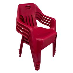 Big Jim - Kid Arm Chair 4S Maroon