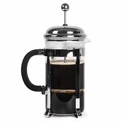 LovelyHome Lovely Home French Press Coffee Maker 32OZ Coffee And Tea Original French Press Stainless Steel And Heat Resistant Glass User-friendly Design Perfect Gift For