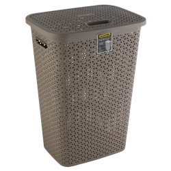 Addis - Hi Design Laundry Hamper Latte