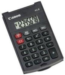 Canon D top - AS-8 8 Digit Handheld