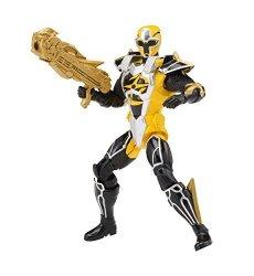 Bandai America Incorporated Power Rangers Super Steel Ninja Master Mode Action Figure Yellow Ranger
