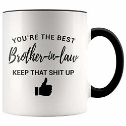 Younique Designs Funny BrOther In Law Mug 11 Ounces Future BrOther In Law Gifts For Birthday Wedding