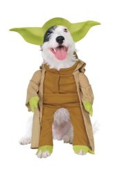 Rubies Decor Rubies Costume Star Wars Collection Pet Costume Yoda With Plush Arms XL