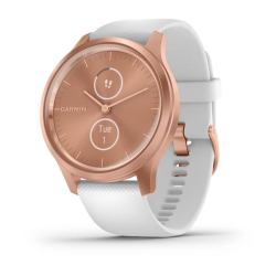 Garmin Vivomove Style White Silicone With Rose Gold Hw