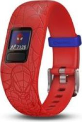 Garmin Vivofit Jr. 2 Kids Gps Fitness Tracker - Marvel Spider-man Red