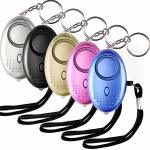 PACK 5 Safety Alarm Keychain Personal Security Survelliance Emergency For Women Girl Men Kids Elder Students Night Walker Etc. B