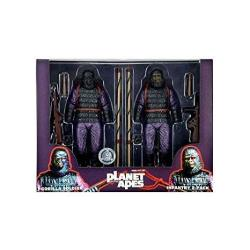NECA Star Images 7-INCH Planet Of The Apes Gorilla Soldier Action Figure Pack Of 2