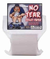 Forum Novelties No Tear Toilet Paper Novelty Item