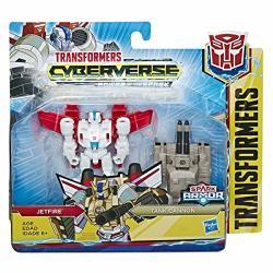 Transformers Tra Cyberverse Spark Armor Jetfire Brown a