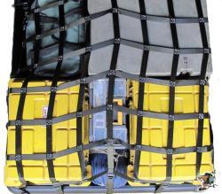 Vanki 1 pcs Multi-Functional Cargo Net Auto Hooks Hanging Organizer Elastic compartment mesh bag Trunk Storage Net