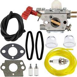HIPA 753-06288 Carburetor + Tune Up Kit Air Filter For Troy Bilt 25CC  String Trimmer Leaf Blower TB35EC TB2044XP TB2040XP TB2MB | R700 00 |  Garden