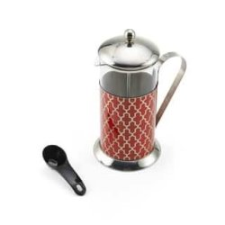 La Cafetiere 5188025 8 Cup French Press-moroccan Red Moroccan