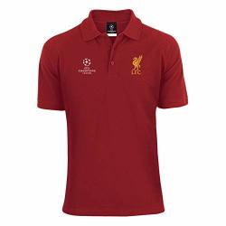 purchase cheap bc85e 855e6 Liverpool FC Red Mens Champions League Polo Jersey Lfc Official | R | Fancy  Dress & Costumes | PriceCheck SA