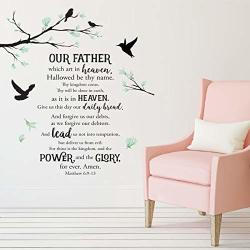 African American Expressions - Lord's Prayer Peel And Stick Wall Art Decal
