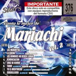 Karaoke Latin Stars 376 Mariachi Vol. 2 - Importante: Este Disco Solo Es Compatible Con Reproductores Del Formato Cdg