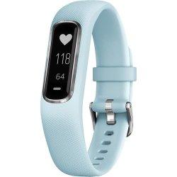 Garmin Vivosmart 4 Activity Tracker Small Medium Blue Silver