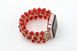 Szwisechip For Apple Watch Band 42MM Apple Watch Strap Accessories Iwatch Band Iwatch Strap 38 Red Chain