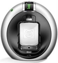 DeLonghi EDG605 Silver Nescafe Dolce Gusto Circolo Coffee Machine - Silver  - 15 Bar Automatic Pressure Regulation Thermoblock Heating System – No