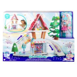 ENCHANTIMALS Hoppin' Ski Chalet 63.50-CM With Bevy Bunny Doll