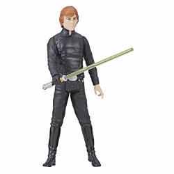 "Star Wars Galaxy Of Adventures Luke Skywalker Action Figure 3.75"" And MINI Comic"