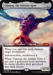 Magic: The Gathering - Ulamog The Infinite Gyre - Foil - Ultimate Masters Box Toppers - Mythic Rare
