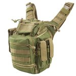 NC Star First Responders Utility Bag - Green With Tan