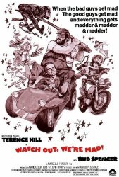 WATCH Out Were Mad Poster Movie 27 X 40 Inches - 69CM X 102CM 1976