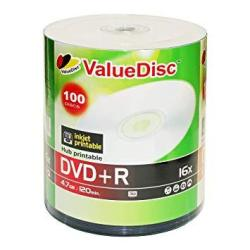 picture relating to Printable Dvd Disc named White Inkjet Hub Printable Dvd+r 16X 4.7GB 120 Instant Disc 100-PACK  R909.00 Uncategorized PriceCheck SA