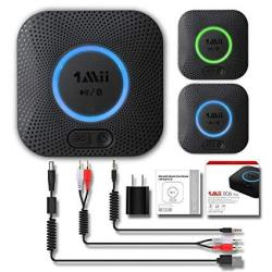1MII B06 Plus Bluetooth Receiver Hifi Wireless Audio Adapter Bluetooth 4.2 Receiver With 3D Surround Aptx Low Latency For Home M