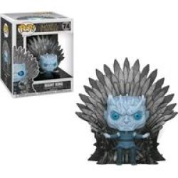 Funko Pop Deluxe: Game Of Thrones - Night King Sitting On Throne Vinyl Figurine