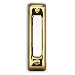 Heathco 711P-B Brass Wired Doorbell