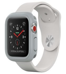 Emia Rhinoshield Crashguard Nx For Apple Watch - Series 1 2 3 42MM - Platinum Gray