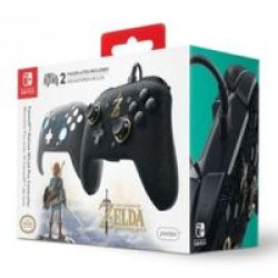 PDP Faceoff Deluxe Wired Controller For Nintendo Switch - The Legend Of Zelda: Breath Of The Wild
