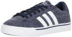 Adidas Men's Cf Super Daily Sneaker Collegiate Navy white collegiate Navy 6.5 M Us