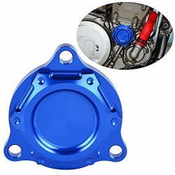 Nicecnc Blue Engine Oil Filter Cover Cap Plug & Powerful Magnet Embedded Replace Suzuki DRZ400 DRZ400E DRZ400S DRZ400SM 2000-201