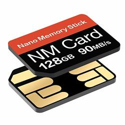 Nm Card 128G 90MB S Nano Memory Card Nano Sd Card Compact Flash Card Only Suitable For Huawei P30P30PRO And MATE20 Series NANO128GB