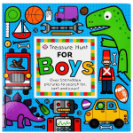 Treasure Hunt For Boys - By Priddy Books
