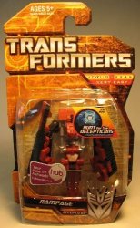 Transformers Hunt For The Decepticons Hasbro Legends MINI Action Figure Rampage