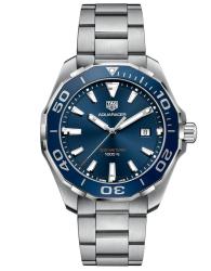 Tag Heuer Aquaracer Quartz Blue Dial Steel 43mm Men's Watch