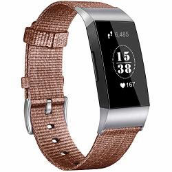 Vancle Bands Compatible Fitbit Charge 3 Fitbit Charge 3 Special Edition  Woven Nylon Breathable Canvas Fitbit Charge 3 Replacemen | R590 00 |  Handheld