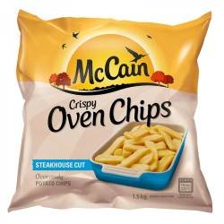 McCain Frozen Oven Chips Steakhouse Cut 1 5kg | R65 99 | Groceries |  PriceCheck SA