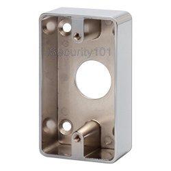 Zoter Door Exit Button Switch Durable Metal Box Back Mounted Rectangular
